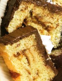 mattonella di cioccolato e pandoro