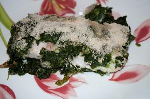 Filetti di pesce persico alle erbe