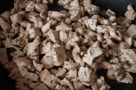 cuocete il pollo
