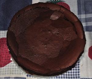 Torta nuvola di cioccolato