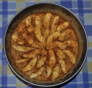 torta di mele con zucchero muscovado