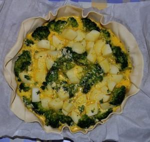 Torta salata di broccoli e patate