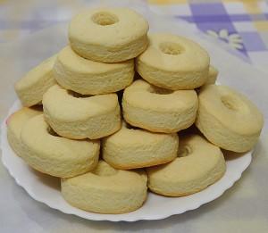 Biscotti alla panna (le macine)